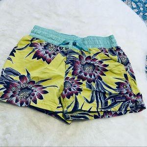 Patagonia Baggies Floral Shorts - L